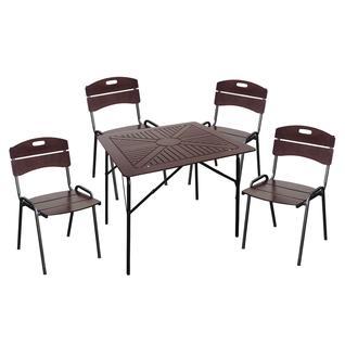 Комплект садовой мебели Бел Мебельторг 3722 Набор мебели Толедо 2 Квадратный