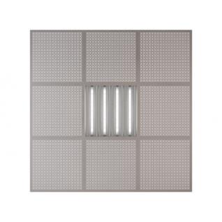 Потолочная плита Presko Эфес 59.5х59.5 металлик