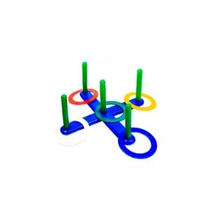 Кольцеброс с пятью столбиками Счастливое детство