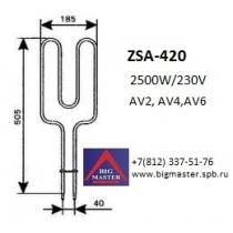 ТЭН Symphony AV2-6 ZSA - 420