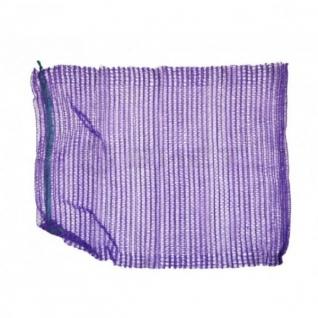 Сетка овощная, 40кг, фиолетовая, 49х77