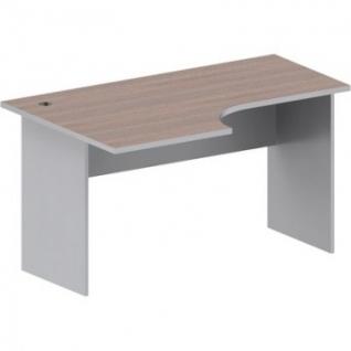 Мебель Easy St Стол лев(008,234)т.дуб/сер.(560/030)Ш1400