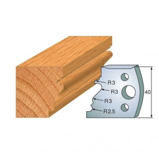 Комплект из 2-х ножей SP CMT 690.122