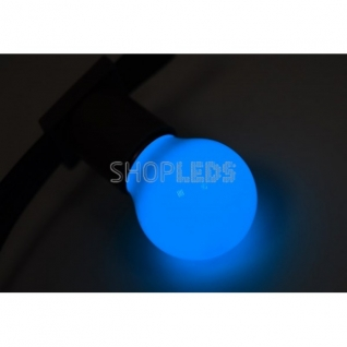 Neon-Night Лампа шар e27 3 LED ∅45мм - синяя