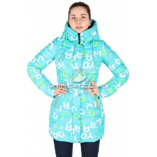 Куртка горнолыжная удлиненная женская 14716