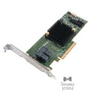 Adaptec Adaptec ASR-7805 SGL 2274100-R PCI-E v3 x8, LP, SAS 6G, RAID 0,1,10,5,6.., 8port(int 4*SFF8643), 1Gb cache, Каб.отдельно