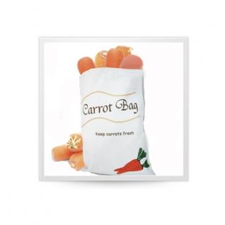 Хранение продуктов, овощей. Мешочки для овощей. Обработка продуктов. Potter Ind. Ltd. Мешочек для хранения моркови Carrot bag NMKC050/CV