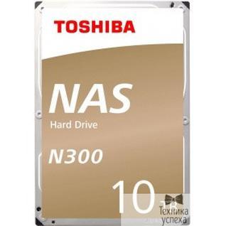 "Toshiba 10TB Toshiba N300 (HDWG11AUZSVA) SATA 6.0Gb/s, 7200 rpm, 256Mb buffer, 3.5"" для NAS"