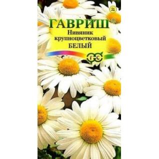 """Семена. Нивяник крупноцветковый """"Белый"""" (10 пакетов по 0,05 г) (количество товаров в комплекте: 10) Гавриш"""