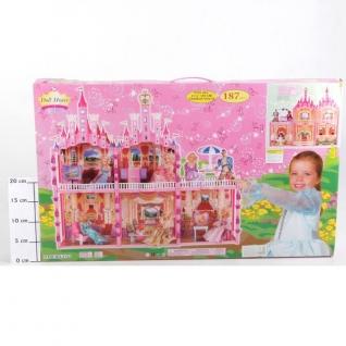 Замок для куклы с мебелью, 187 деталей Shantou
