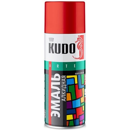 КУДО KU-1016 Эмаль аэрозольная темно-серая (0,52л) / KUDO KU-1016 Эмаль аэрозольная алкидная темно-серая (0,52л) Кудо 36983998