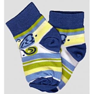 Носки из хлопка. Состав: 72% хлопок; 26% полиамид; 2% эластан, цвет 801 джинс