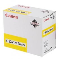 Картридж Canon C-EXV21Y для Canon iR C2380, iR C2550, iR C2880, iR C3080, iR C3380, iR C3480, iR C3580, оригинальный, жёлтый, 26000 стр. 10185-01