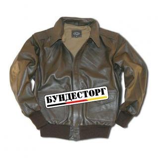 Куртка в стиле пилота A-2, США, цвет коричневый