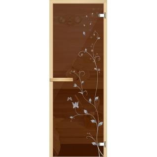Арт-серия (AJIO) 7х19 (8мм) с рисунком: коробка -осина/липа: Ветка