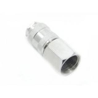 """Быстроразъем пневматический с клапаном с внутренней резьбой 3/8"""" Partner"""