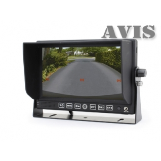 """Парковочный монитор 7"""" на приборную панель AVIS AVS4714BM Avis"""