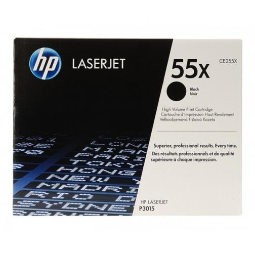 Картридж CE255X №55X для HP LJ P3016 (черный, 12500 стр.) 725-01 Hewlett-Packard 852595 1