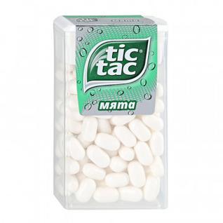 Драже Tic Tac со вкусом мяты, 49г