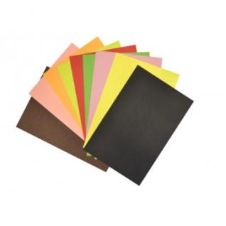 Набор цветной бумаги 20цв,20л,А4,тонированная,набор№4,11-420-53