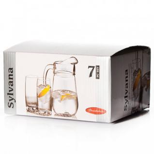 Набор SYLVANA (кувшин + 6 стаканов) 97875B Pasabahce