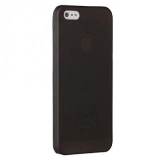 Чехол на заднюю крышку Ozaki O!Coat 0.3 Jelly для iPhone 5/5S/SE, цвет Black (OC533BK)