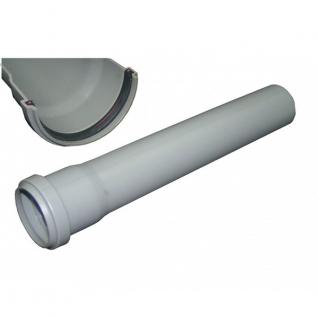 Труба канализационная 40х1.8х1000 с кольцом