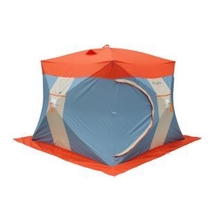 Палатка для зимней рыбалки Митек Нельма Куб 3 Люкс с внутренним тентом