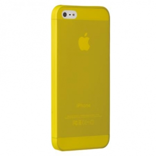 Чехол на заднюю крышку Ozaki O!Coat 0.3 Jelly для iPhone 5/5S/SE, цвет Yellow (OC533YL)