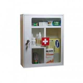Аптечка металлическая Klesto G45/2 со стеклом