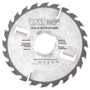 Диск пильный по дереву с подрезными ножами СМТ 279.024.12V