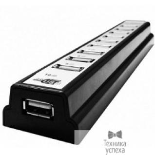 Cbr CBR CH-310 USB-концентратор, 10 портов, активный, USB 2.0/220В Black