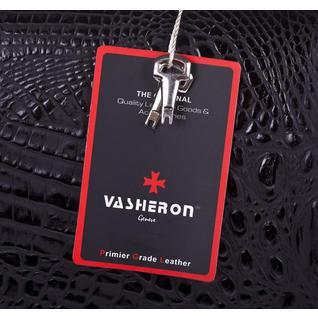 Кожаный портфель Vasheron 9738 Bambino Black ✤ Narvin