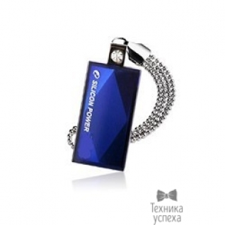 Silicon Power Silicon Power USB Drive 8Gb Touch 810 SP008GBUF2810V1B USB2.0, Blue