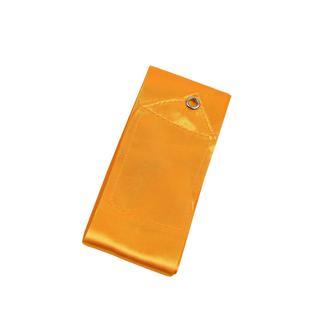 Лента для художественной гимнастики Amely Agr-201 6м, с палочкой 56 см, оранжевый