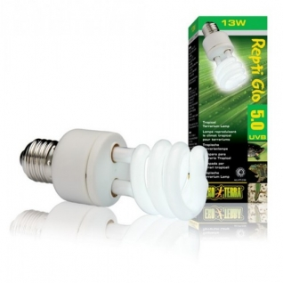Hagen Лампа для тропического террариума Repti Glo 5.0 Compact, Т10/13 Вт