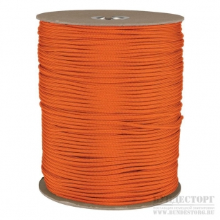Made in Germany Паракорд,цвет оранжевый, мерный товар