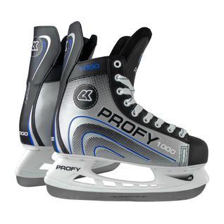 Хоккейные коньки СК (Спортивная Коллекция) (спортивная коллекция) Profy 1000, синий размер 34