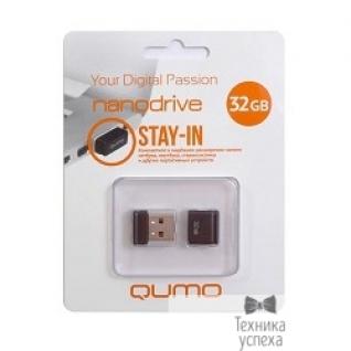 Qumo USB 2.0 QUMO 32GB NANO QM32GUD-NANO-B Black