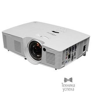 Optoma Optoma W316ST Проектор (Full 3D), DLP, WXGA (1280*800), 3600 ANSI Lm, 20 000:1, Короткофокусный Throw Ratio 0.52:1; HDMI, USB Type B;