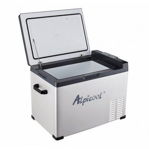 Kомпрессорный автохолодильник ALPICOOL ACS-40 черный (40л, 12/24/220В) 36971480 1