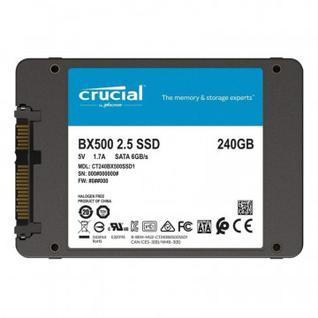 Жесткий диск SSD 240Gb Crucial (CT240BX500SSD1)