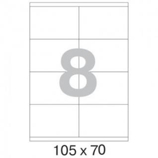 Этикетки самоклеящиеся Promega label 105х70 мм/8 шт. на листе А4 (100 л.