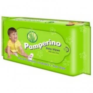 "Салфетки влажные детские Pamperino ""Алоэ вера"", 80 штук Pamperino"