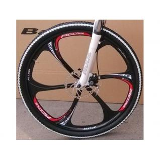 Литые полуизогнутые диски на велосипед 26 дюймов