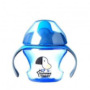 "Поильник Explora ""Первая чашка"" (от 4 мес.), голубой, 150 мл Tommee Tippee"