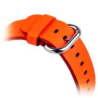 Ремешок кожаный COTEetCI W1 Band for Premier (CS2030-or) для Apple Watch 40мм/ 38мм (классическая пряжка) Оранжевый