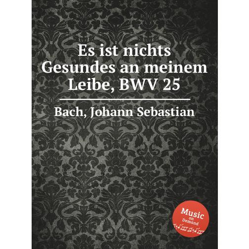 Нет целого места во плоти моей, BWV 25 38717878
