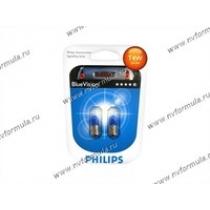Лампа 12V4W BA9s Philips BlueVision 12929BVB2