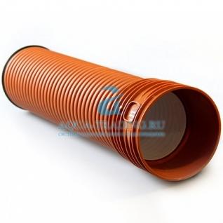 Труба канализационная 150x6000 Политрон ProKan наружная с муфтой SN8